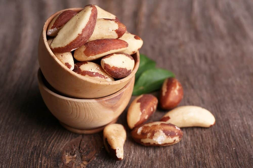 ถั่วบราซิล (Brazil nuts)